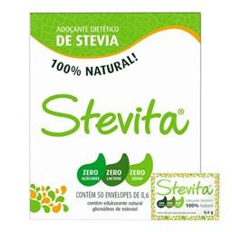 Adoçante de Stevia Stevita Sachê 0,6g