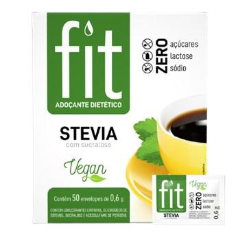 Adoçante Fit Stevia Com Sucralose 50x0,6g
