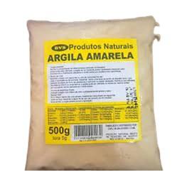 Argila Amarela Bvs 500g
