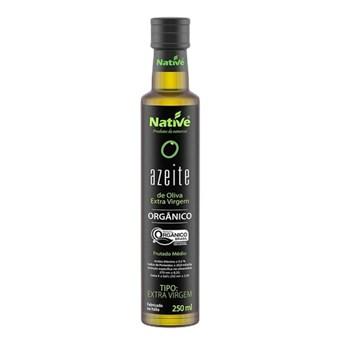 Azeite de Oliva Extra Virgem Orgânico Native 250ml + BRINDE ( 1un Lasanha Organica Native 200Gr)
