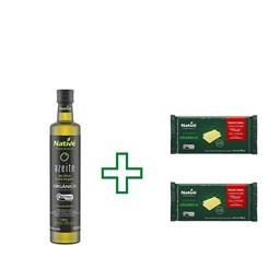 Azeite de Oliva Extra Virgem Orgânico Native 500ml + BRINDE ( 2un Lasanha Organica Native 200Gr)