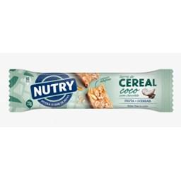 Barra de Cereal Coco com Chocolate 22g - Nutry