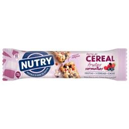 Barra de Cereal Frutas Vermelhas 22g - Nutry