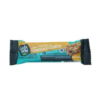 Barra De Nuts Com Banana e Quinoa 30g