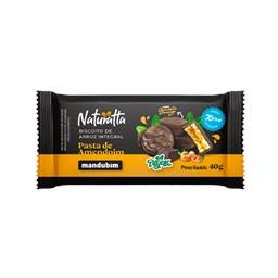 Biscoito de Arroz Integral com Chocolate Amargo 40g  - Mandubim
