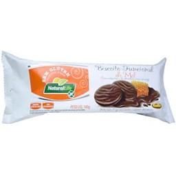 Biscoito Funcional de Mel com Chocolate Sem Glúten Natural Life 140g