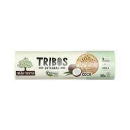 Biscoito Orgânico Integral Coco Tribos Mãe Terra 130g