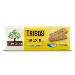 Biscoito Orgânico Integral de Maizena Mãe Terra 145g