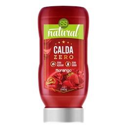 Calda Sabor Morango Zero Açúcar e Zero Sódio 240g