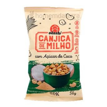 Canjica De Milho Com Açúcar De Coco 50g Okoshi