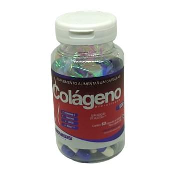 Colágeno + vitamina C e Selênio - Gênisis - 60 cápsulas