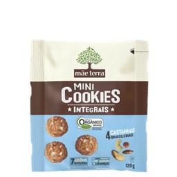 Cookies Orgânico Integral Castanhas Brasileiras Mãe Terra 120g