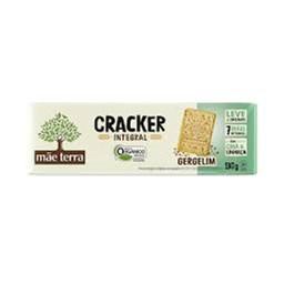 Cracker Orgânico Integral Gergelim Mãe Terra 130g