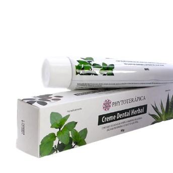 Creme Dental Herbal Melaleuca e Hortelã Pimenta Phytoterápica 80g