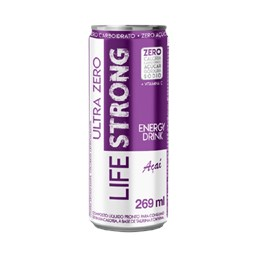 Energy Drink Sabor Açai - Life Strong