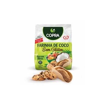 Farinha De Coco S/ Glúten Copra 400g