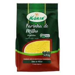 Farinha De Milho Orgânica Korin 500g