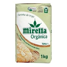 Farinha de Trigo Orgânica Mirella Tipo 1