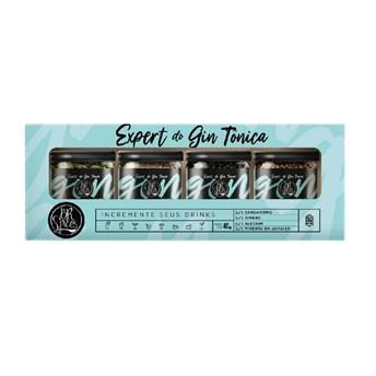 Kit Gin Tônica 40g - BR Spices