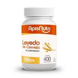 LEVEDO DE CERVEJA - 400 COMPRIMIDOS - APISNUTRI