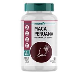 Maca Peruana + Vitaminas 60 Comprimidos - Nutralin