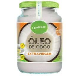 Óleo de Coco Extra Virgem Qualicoco 500ml