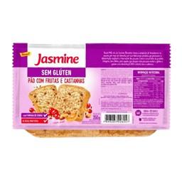 Pão De Forma Frutas e Castanhas Sem Glúten Jasmine 350g