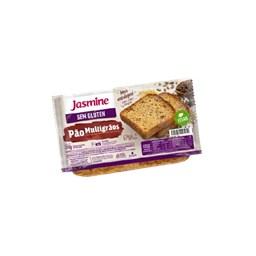 Pão De Forma Multigrãos Sem Glúten Jasmine 350g