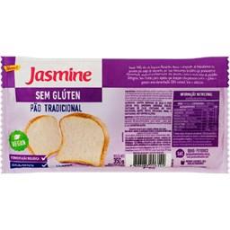 Pão De Forma Tradicional Sem Glúten Jasmine 350g