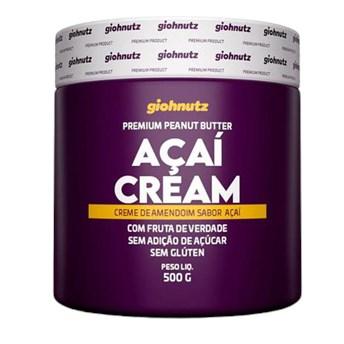 Pasta De Amendoim Açaí Cream 500g Giohnutz