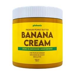 Pasta De Amendoim Banana Cream 500g Giohnutz