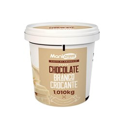 Pasta De Amendoim Chocolate Branco Crocante 1,010kg Manicrem