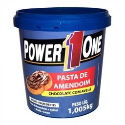 Pasta de Amendoim Chocolate com Avelã Power 1 one 1,005 Kg