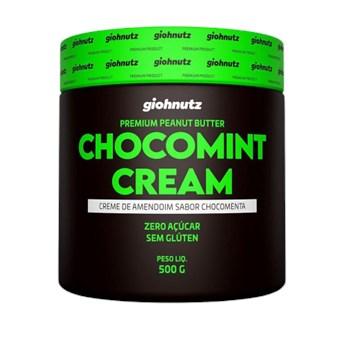 Pasta De Amendoim Chocomint Cream 500g Giohnutz