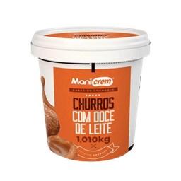 Pasta de Amendoim Churros com Doce de Leite 1,010kg- Mani Crem