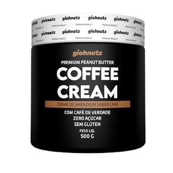 Pasta De Amendoim Coffee Cream 500g Giohnutz