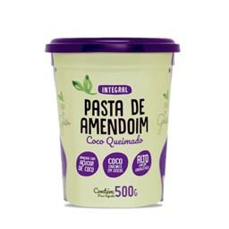 Pasta de Amendoim com Coco Queimado 500g - Terra dos Grãos