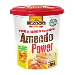 Pasta De Amendoim Integral Amendo Power 500g