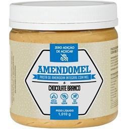 Pasta de Amendoim Integral Chocolate Branco com Mel 1,010g