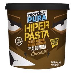 Pasta De Amendoim Integral Com Albumina/Chocolate Proteína pura 1,005kg