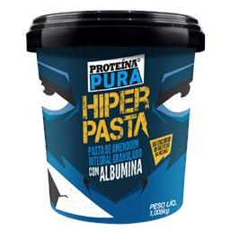 Pasta De Amendoim Integral Com Albumina Proteína pura 1,005kg