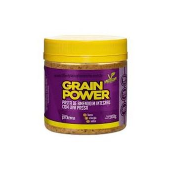 Pasta de Amendoim Integral com Uva Passa Grain Power 500g
