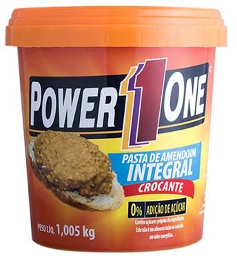 Pasta de Amendoim Integral Crocante Power1one 1,005 Kg