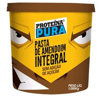 Pasta De Amendoim Integral Proteína Pura 1,005kg