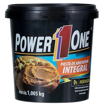 Pasta de Amendoim Integral Tradicional Power 1 one 1,005Kg