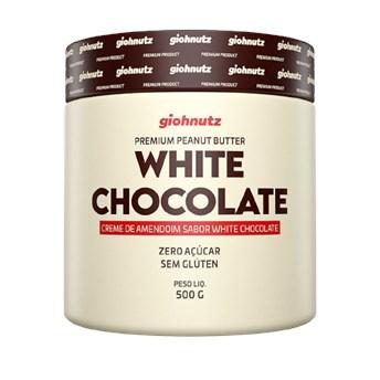 Pasta De Amendoim White Chocolate 500g Giohnutz