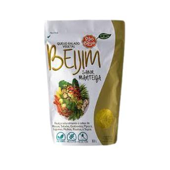 Queijo Ralado Vegetal Sabor Manteiga 80g - Pão de Beijo
