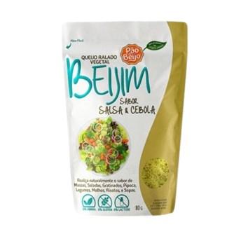 Queijo Ralado Vegetal Sabor Salsa e Cebola 80g - Pão de Beijo