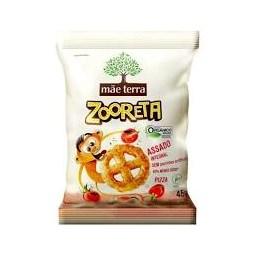Salgadinho orgânico Mãe Terra sabor Pizza 45g