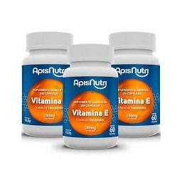 Vitamina E Apisnutri 60 Cápsulas